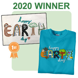 Earth Day Shirts Student Design Contest